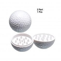 Golfball Grinder Plain - 2part - White