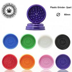 Amsterdam Leaf Grinder - 2part - Ø:60mm - Mix Colors