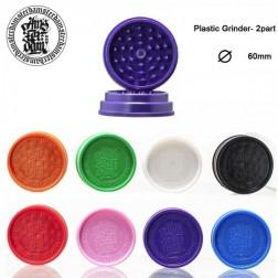 Amsterdam Grinder - 2part - Ø:60mm - Mix Colors