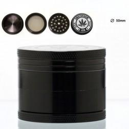 Amsterdam Mix Grinder- 4part- Ø: 50mm - Black