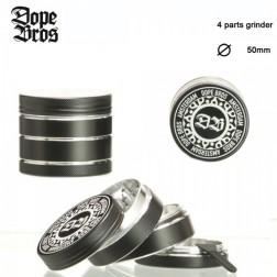 Dope Bros Grinder - 4part - Ø:50mm - Black