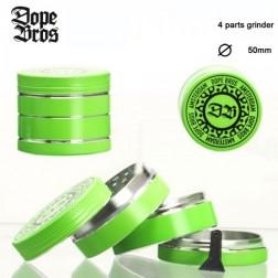 Dope Bros Grinder - 4part - Ø:50mm - Green