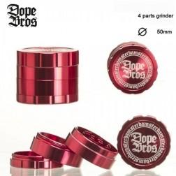 Dope Bros Grinder - 4part - Ø:50mm - Red