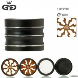 Grace Glass Grinder - Ø:60mm - 4Part - Orange