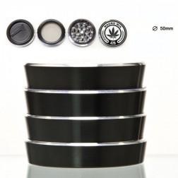 Magno Mix Grinder - 4part - Ø:50mm - Black