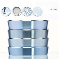 Magno Mix Grinder - 4part - Ø:50mm - Blue