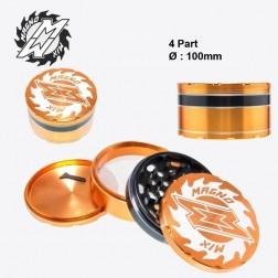 Magno Mix Grinders - 4part - Ø:100mm - Orange