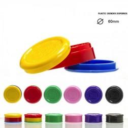 Plastic Dope Bros Grinder - 2part - Ø:60mm - Mix Colors