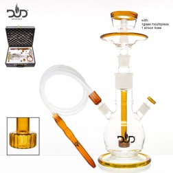 DUD Glass Hookah Moon Light - Umber