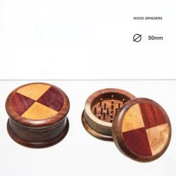 Triangle Grinders - 2part - Ø:50mm - Wood