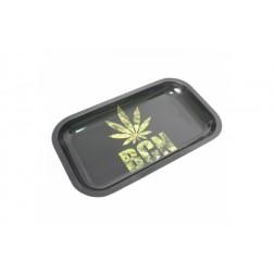 HQ Metal rolling tray - Barcelona Leaf