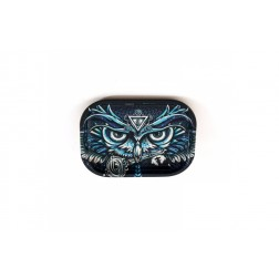 HQ Metal rolling tray - Owl