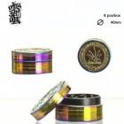 Amsterdam Leaf Grinder - 2part - Ø:40mm - Rainbow